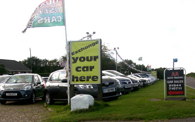AA Auto Trading always has over 60 used cars for sale at Ganton Service Station