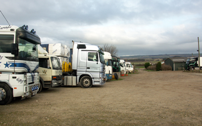 HGV Parking Near Scarborough