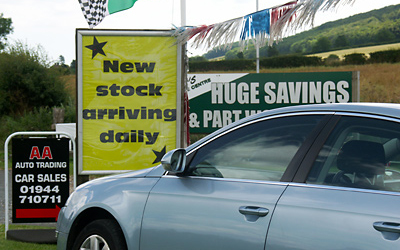 A Large Selection Of Used Cars For Sale At Ganton Service Station