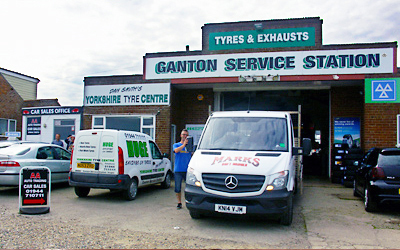 Businesses At Ganton Service Station